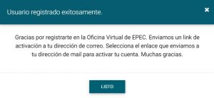 confirmar mail oficina virtual epec