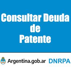 consultar deuda de patente